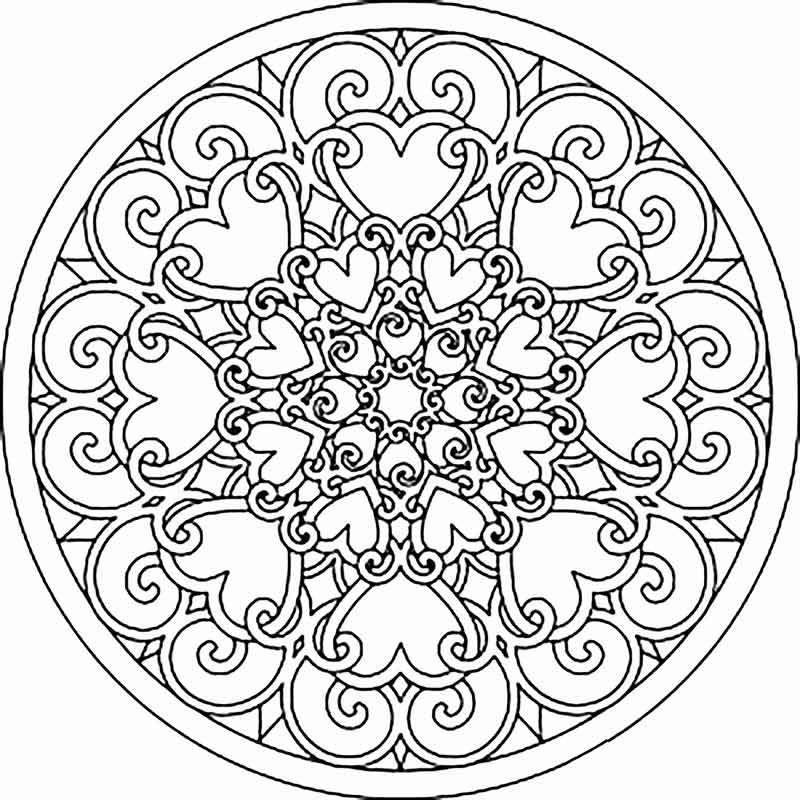 Mandala Boyama Için Anlamı Ile Yararlı Boyama Mandala Nedir